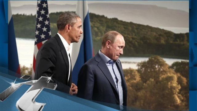 News video: Middle East Breaking News: Obama and Putin Cite Differences on Syria but Say They Want Violence to End